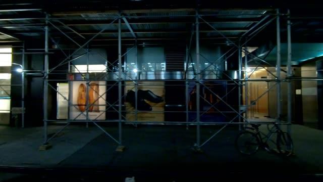 nyc マンハッタン18、シリーズ右サイドドライビングスタジオプロセスプレートを同期 - part of a series点の映像素材/bロール