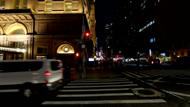 nyc manhattan xx synced series left side driving studio process plate - part of a series stock videos & royalty-free footage