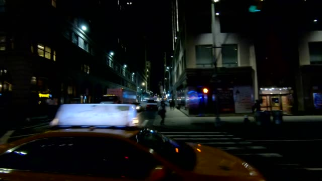 nyc manhattan xxiii synced series left side driving studio process plate - part of a series stock videos & royalty-free footage
