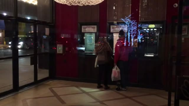 manhattan's ziegfeld movie theater will close, and become an event space. various shots of the theater's interior and exterior, as well as a sot... - theatre district stock videos & royalty-free footage