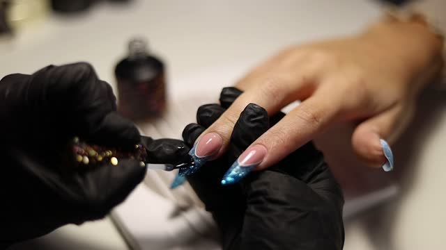 manicure - manicure stock videos & royalty-free footage