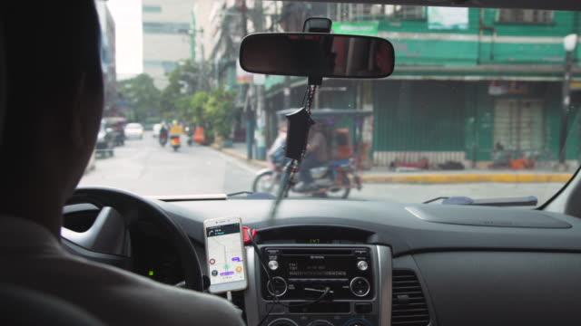 POV Manila from a car