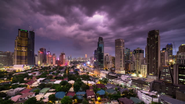 manila sunset - time lapse - philippines stock videos and b-roll footage