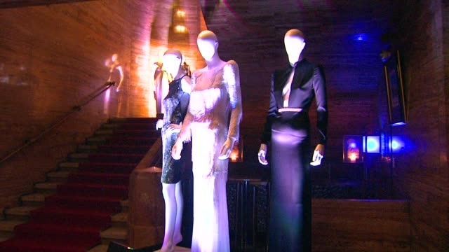 maniquins at city of hope honors halston ceo ben malka with spirit of life award on in los angeles ca - halston stock videos & royalty-free footage