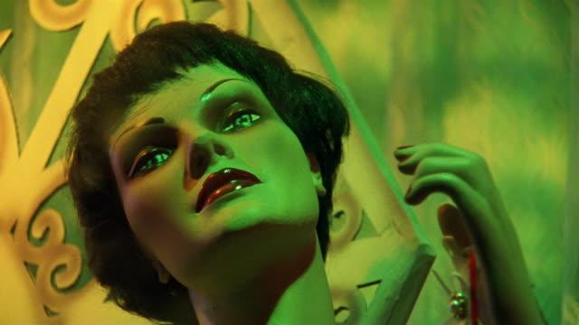 cu, mannequin head, santiago de cuba, cuba  - mannequin stock videos & royalty-free footage