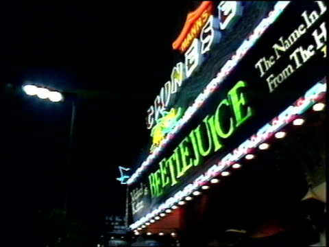 Manns Chinese Theater Marquee Beetlejuice Sign