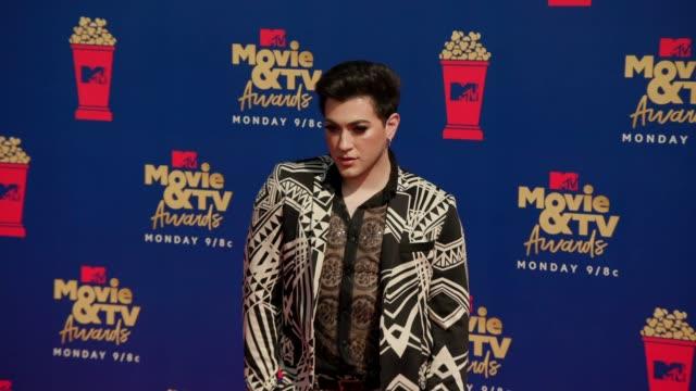 Manny MUA at the 2019 MTV Movie TV Awards at Barkar Hangar on June 15 2019 in Santa Monica California