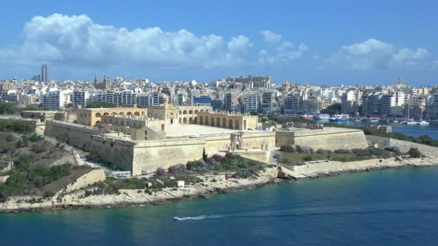 manoel island - valletta, malta - fort stock videos and b-roll footage