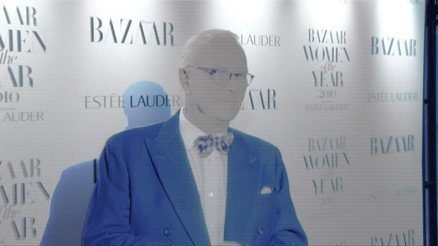 Manolo Blahnik arrives for the Harper's Bazaar Awards Harper's Bazaar Women Of The Year Awards at One Mayfair on November 01 2010 in London