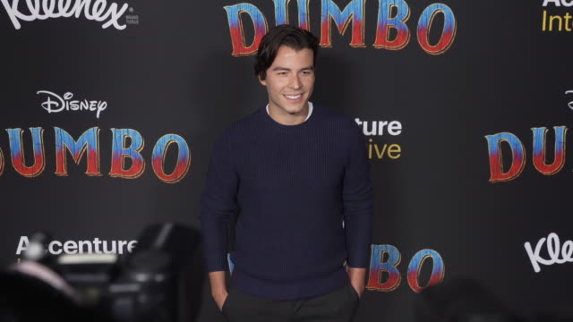 manolo gonzalezripoll vergara at the dumbo world premiere at the el capitan theatre on march 11 2019 in hollywood california - premiere event stock videos & royalty-free footage