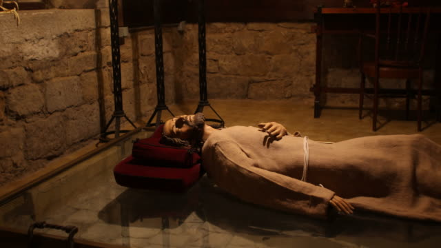 manresa ignatius st. lucia hospital capella del rapte - jesuit stock videos and b-roll footage