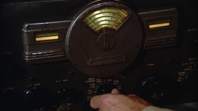ms man's hand adjusting knobs on radio receiver - knob stock videos & royalty-free footage
