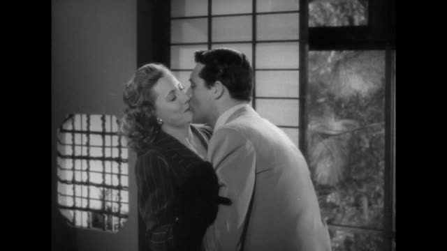 1941 Man's (Cary Grant) lack of concern with their finances worries wife (Irene Dunne)