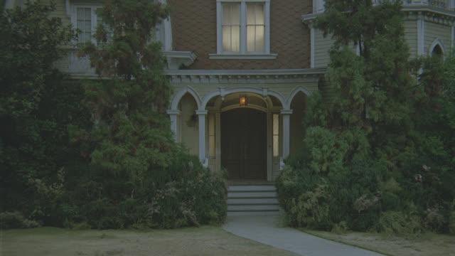 mansion - dusk or night - 唯一点の映像素材/bロール