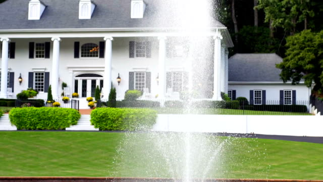 mansion - stately home stock videos & royalty-free footage