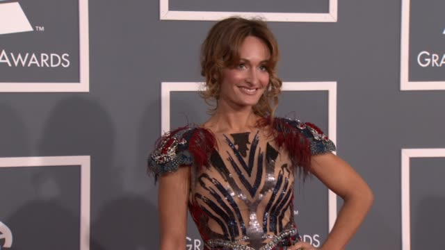 D'Manti at 54th Annual GRAMMY Awards Arrivals on 2/12/12 in Los Angeles CA