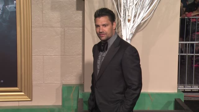 Manu Bennett at The Hobbit The Battle of the Five Armies Los Angeles Premiere at Dolby Theatre on December 09 2014 in Hollywood California