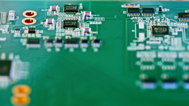 Manual instalation of mssing components on circuit board after smt