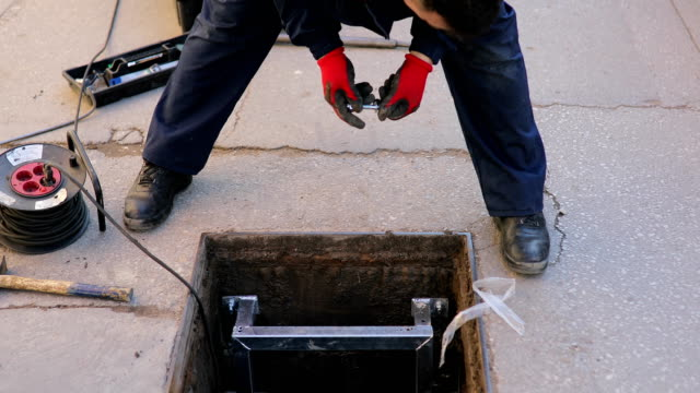manual workers teamwork - pipe stock videos & royalty-free footage