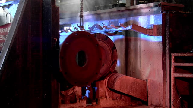 manufacture of steel pipes - pipe stock videos & royalty-free footage