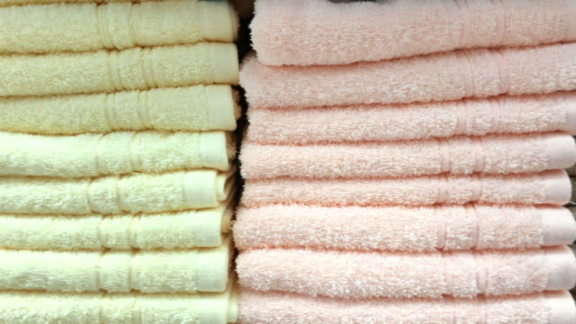 manufactures industrial textile - towel stock videos & royalty-free footage