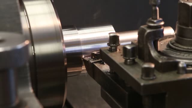 manufacturing and assembly of coffee grinders and some related parts at the mpe corporation facility in chicago illinois us broll of a modern process... - grinding stock videos and b-roll footage