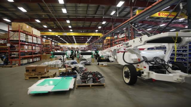 manufacturing facilities of prairie machine and rokion in saskatoon saskatchewan canada on tuesday september 17 2019 - saskatchewan stock videos and b-roll footage