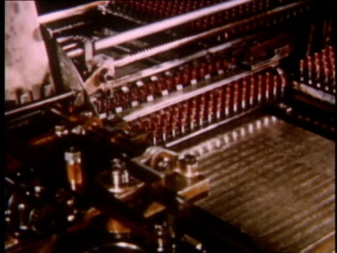 1951 montage manufacturing gelatin pill capsules / detroit, michigan, united states - gelatin stock videos and b-roll footage