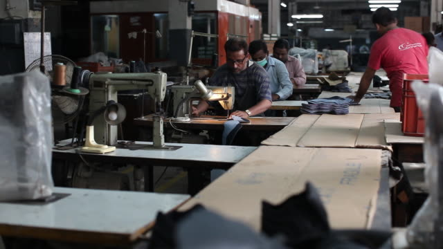 manufacturing military supplies at the lyra factory karachi sindh pakistan on thursday august 162018 - 仕立て屋点の映像素材/bロール