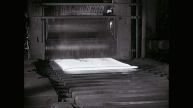 ms manufacturing of metal sheet in factory / united states - sheet metal stock videos and b-roll footage