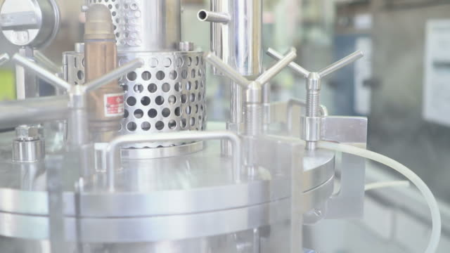 manufacturing plant : slow motion - instrument of measurement stock videos and b-roll footage