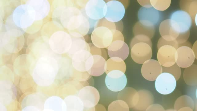 many blinking circular bokeh lights, out of focus - soft focus stock videos & royalty-free footage