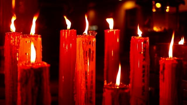 many candle - heder bildbanksvideor och videomaterial från bakom kulisserna