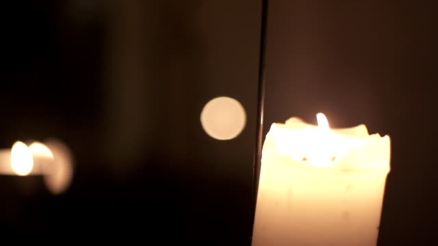 many candles - votive candle stock videos and b-roll footage