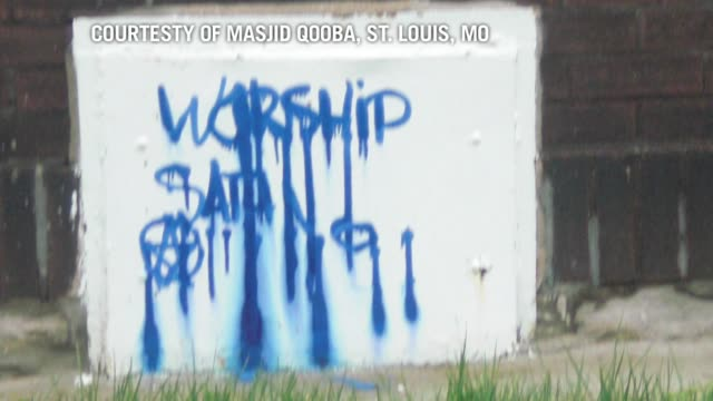 many rights groups have expressed concern this month over what they said was a rising number of anti-muslim attacks, including the stabbing of a... - vandalism stock videos & royalty-free footage