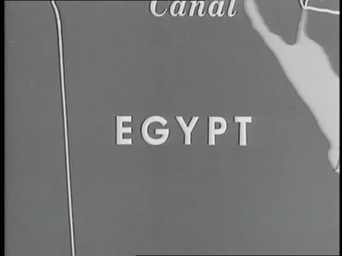 a map displays the middle east - 1958 stock videos & royalty-free footage
