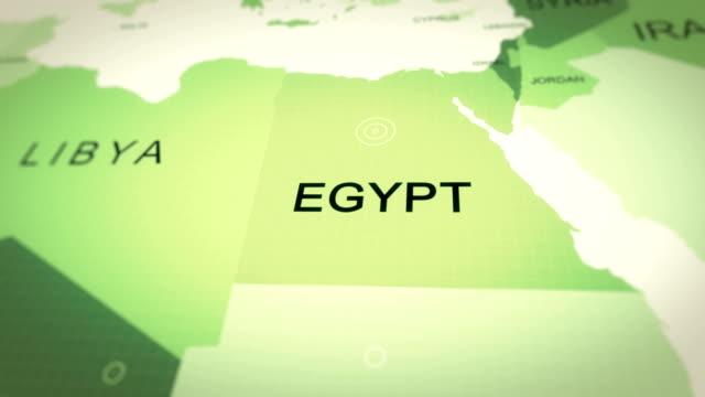 vídeos de stock, filmes e b-roll de mapa egypy - lugar famoso internacional