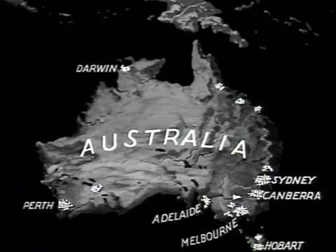 Australia Map 785.55 Australia Map Cities Video Clips Footage Getty Images