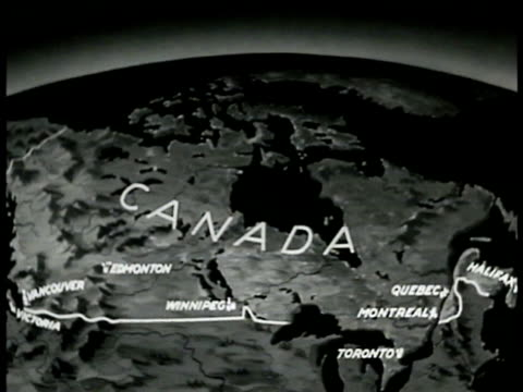 MAP Map of Canada
