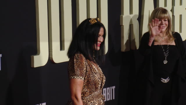 """maría conchita alonso at the """"jojo rabbit"""" los angeles premiere presented by fox searchlight pictures in los angeles ca - fox searchlight pictures stock videos & royalty-free footage"""