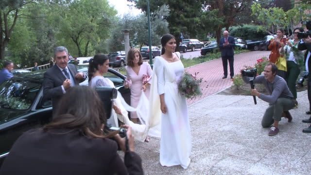 maría g de jaime and tomás paramo´s spanish influencers wedding - paramo stock videos and b-roll footage