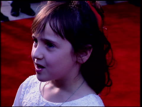 Mara Wilson at the 'Nine Months' Premiere on July 11 1995
