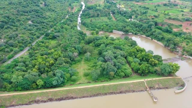 maralwadi dam - hill stock videos & royalty-free footage