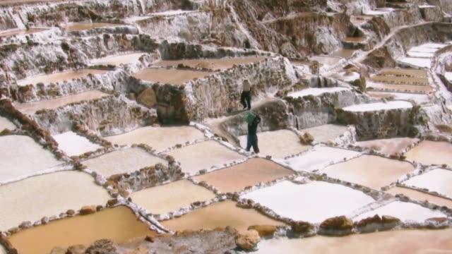 Maras Salt Ponds Mine, Inca Trail, Peru