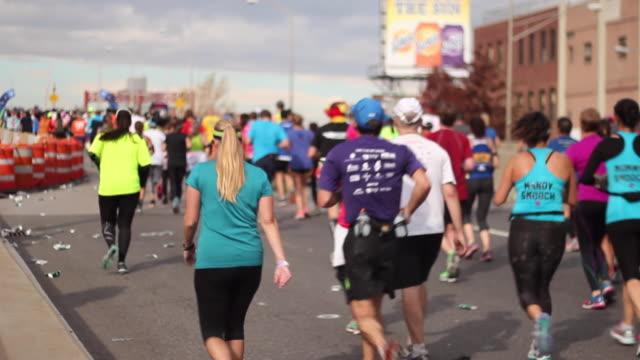 vídeos y material grabado en eventos de stock de nyc marathon 1 - maratón