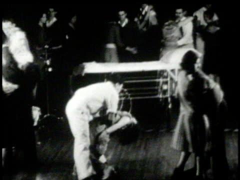 1926 marathon dancer collapsing / united states - 1926 stock videos & royalty-free footage