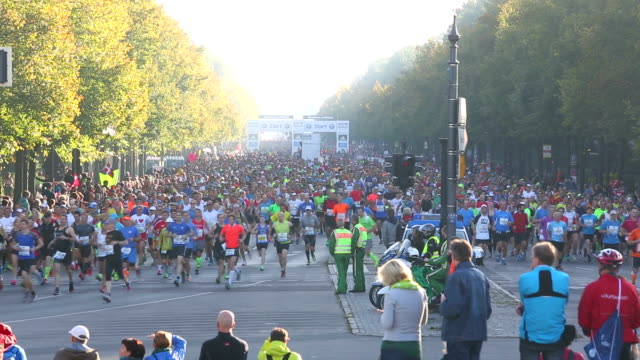 Marathon running in Berlin + Audio