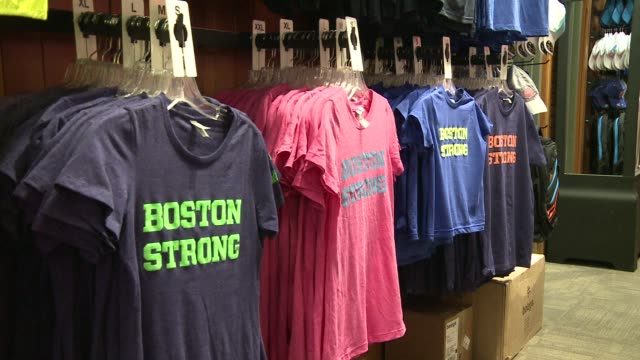 stockvideo's en b-roll-footage met marathon sports is just meters from where the first blast went off at 2013s boston marathon and it quickly became a triage and treatment center for... - triage