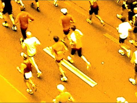 vidéos et rushes de marathon - en individuel