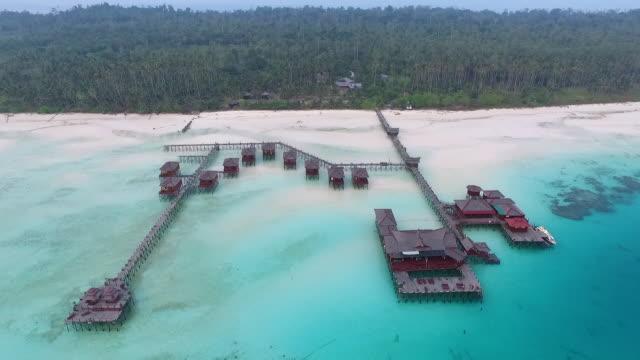 maratua island borneo - kalimantan stock videos and b-roll footage